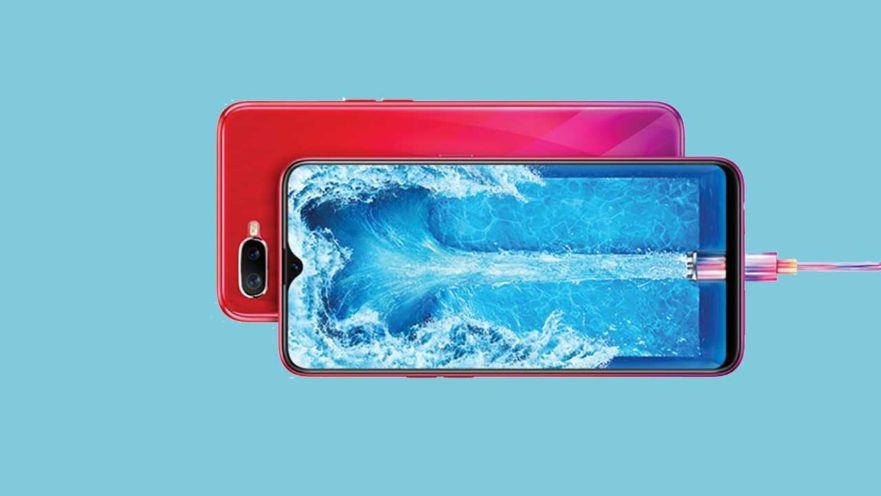 OPPO F9 Pro design teaser on Revu Philippines