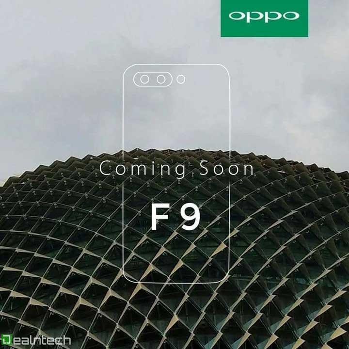OPPO F9 teaser leak on Revu Philippines