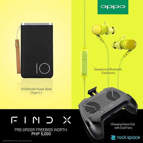 OPPO Find X price and preorder freebies on Revu Philippines