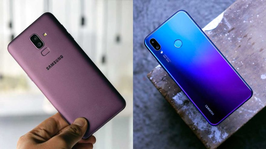 Samsung Galaxy J8 and Huawei Nova 3i compared on Revu Philippines
