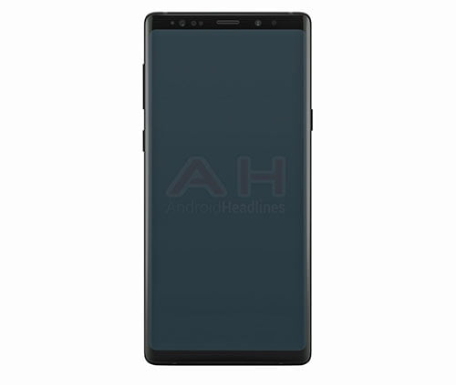 Samsung Galaxy Note 9 image render on Revu Philippines