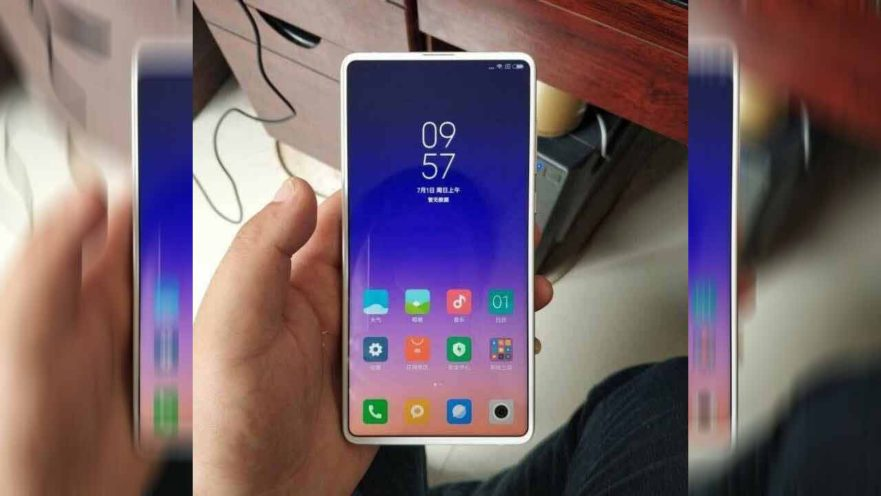 Xiaomi Mi Mix 3 design leak on Revu Philippines