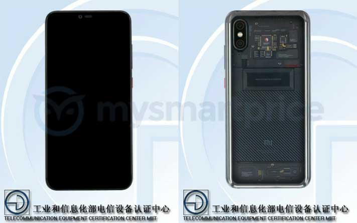Xiaomi Mi Note 4 has Xiaomi Mi 8 Explorer Edition design on TENAA via Revu Philippines