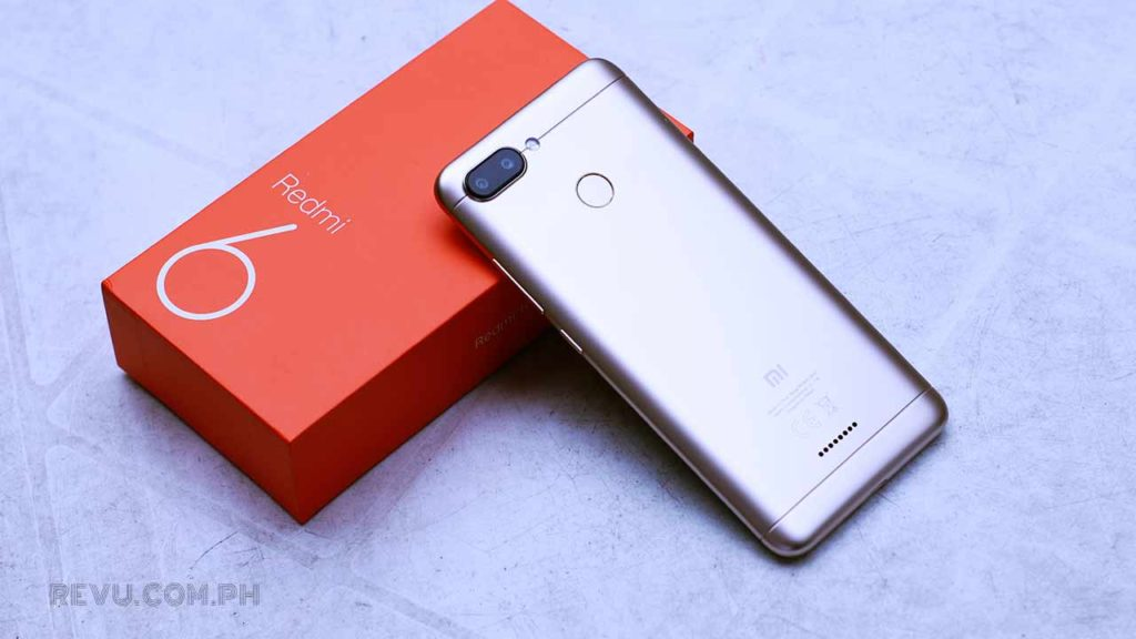 Xiaomi Redmi 6 price and specs on Revu Philippines