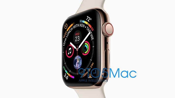 Apple Watch Series 4 leaked design on Revu Philippines
