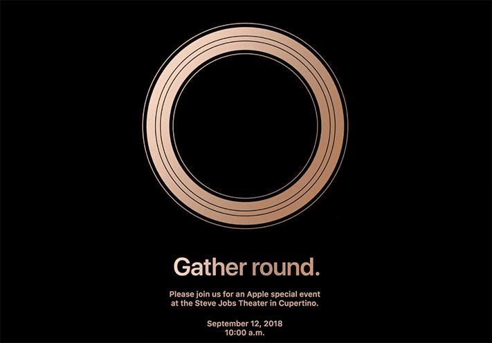 Apple iPhone XS 2018 launch event invite on Revu Philippines