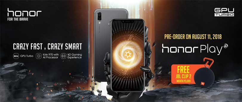 Honor Play price, preorder details and freebies on Revu Philippines
