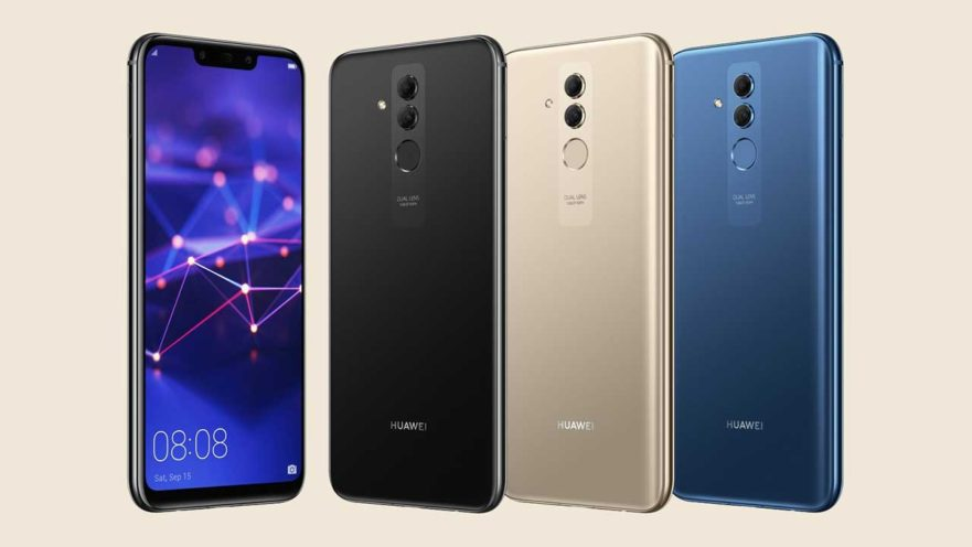 Huawei Mate 20 Lite design and colors in image leak on Revu Philippines