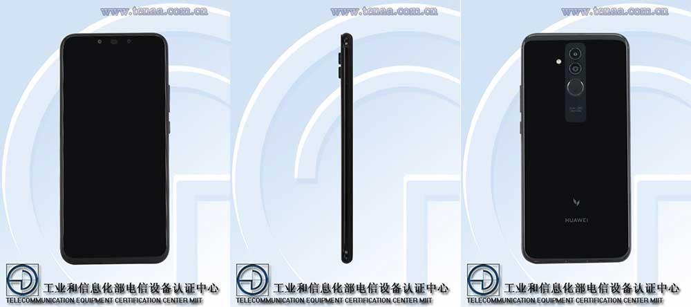 Huawei Mate 20 Lite specs and design on TENAA via Revu Philippines