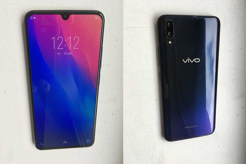 Vivo V11 photo leak on Revu Philippines