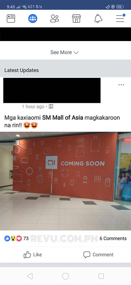 Xiaomi Mi Store at SM Mall of Asia to open soon on Revu Philippines