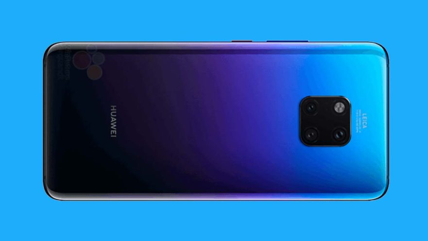 Huawei Mate 20 Pro Renders Show Twilight Variant And More Revu
