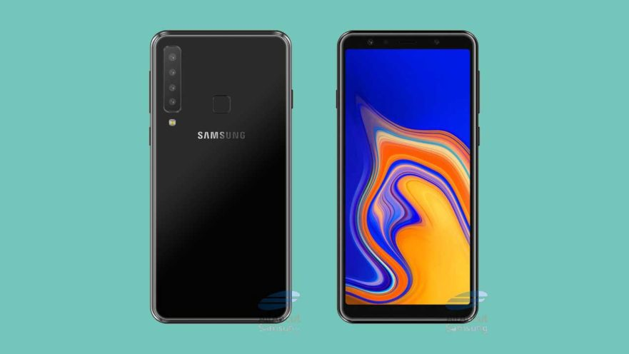 Samsung Galaxy A9 Star Pro 4-rear-camera phone's concept design on Revu Philippines