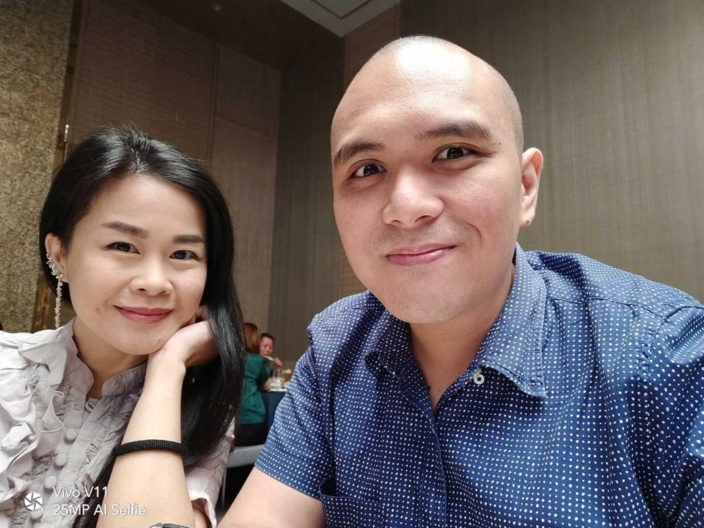 Vivo V11 sample selfie picture. Review, price and specs on Revu Philippines