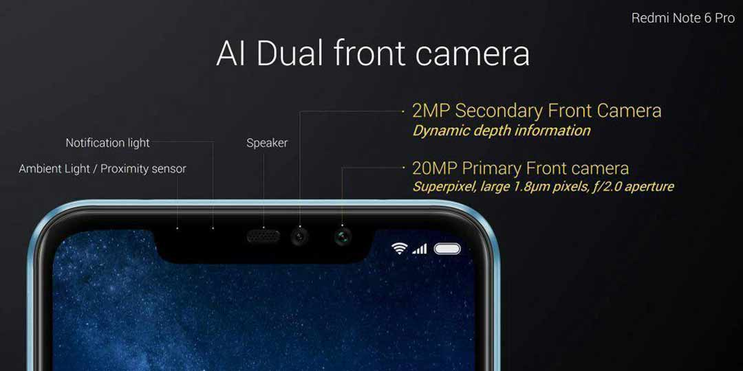 Xiaomi Redmi Note 6 Pro price and front camera specs in Thailand on Revu Philippines