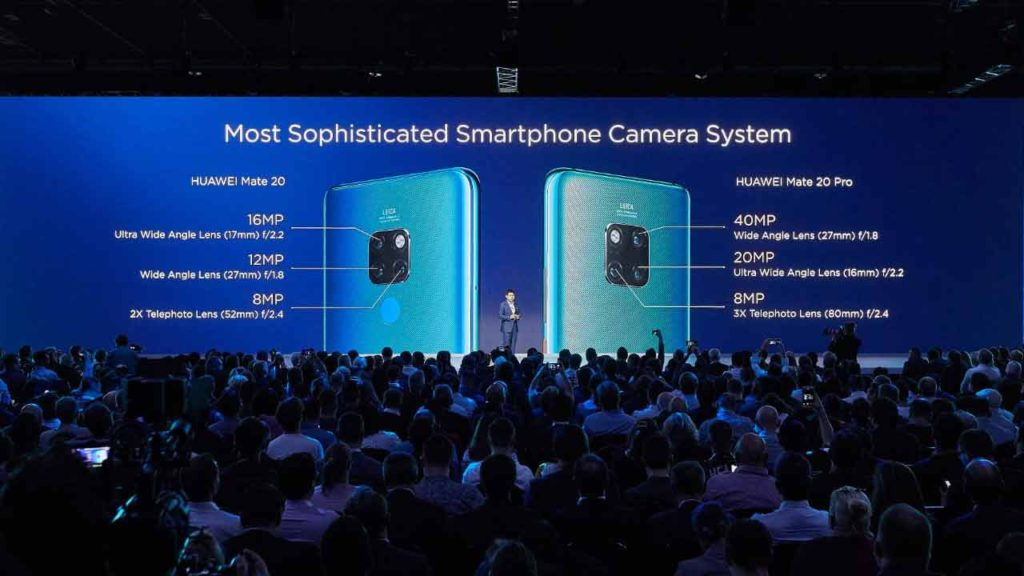 Huawei Mate 20 and Mate 20 Pro cameras specs on Revu Philippines