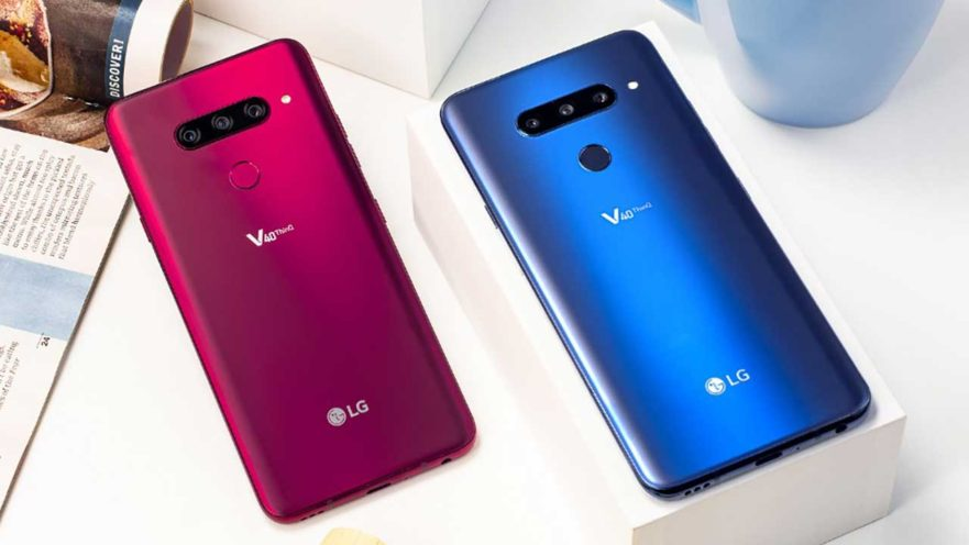 LG V40 ThinQ specs and price on Revu Philippines