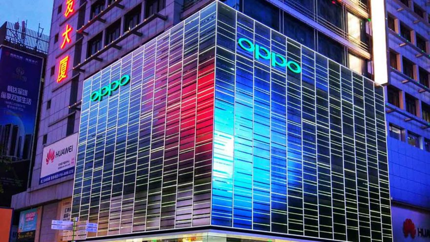 OPPO flagship store in Shenzhen, China, on Revu Philippines