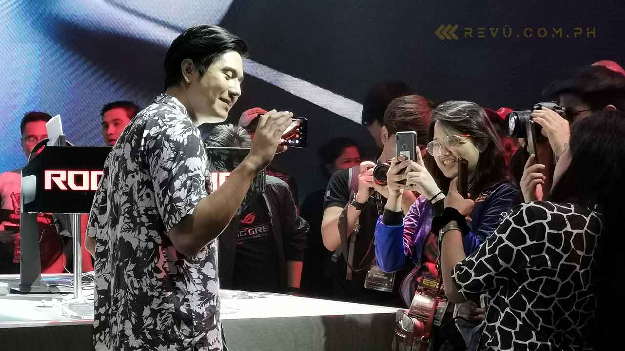 Paulo Avelino is ASUS ROG Phone brand ambassador on Revu Philippines
