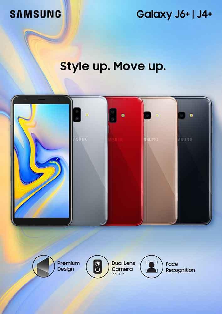 Samsung Galaxy J6 Plus and J4 Plus price and specs on Revu Philippines