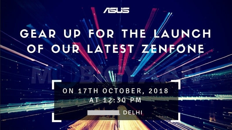 ASUS India ZenFone media event invitation on Revu Philippines
