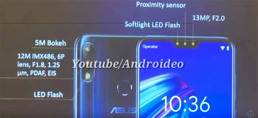 ASUS ZenFone Max Pro M2 cameras leaked on Revu Philippines