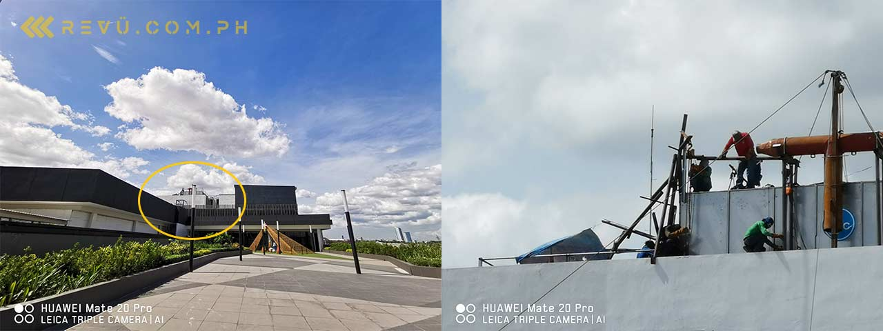 Huawei Mate 20 Pro: Ultra-wide-angle lens vs telephoto lens in review by Revu Philippines
