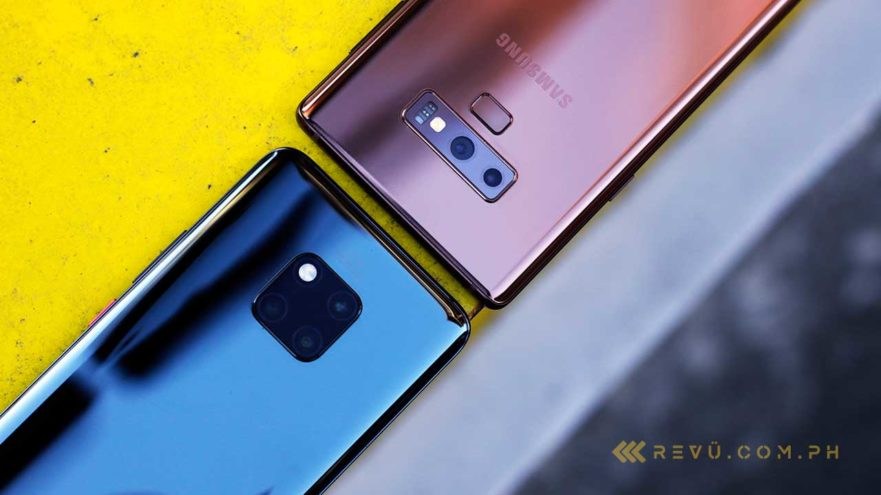 Huawei Mate 20 Pro Vs Samsung Galaxy Note 9 Battle Between