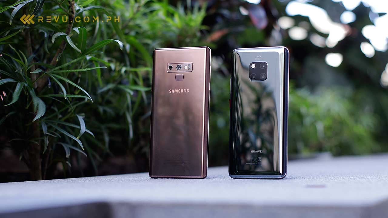 Huawei Mate 20 Pro vs Samsung Galaxy Note 9: Comparison review on Revu Philippines