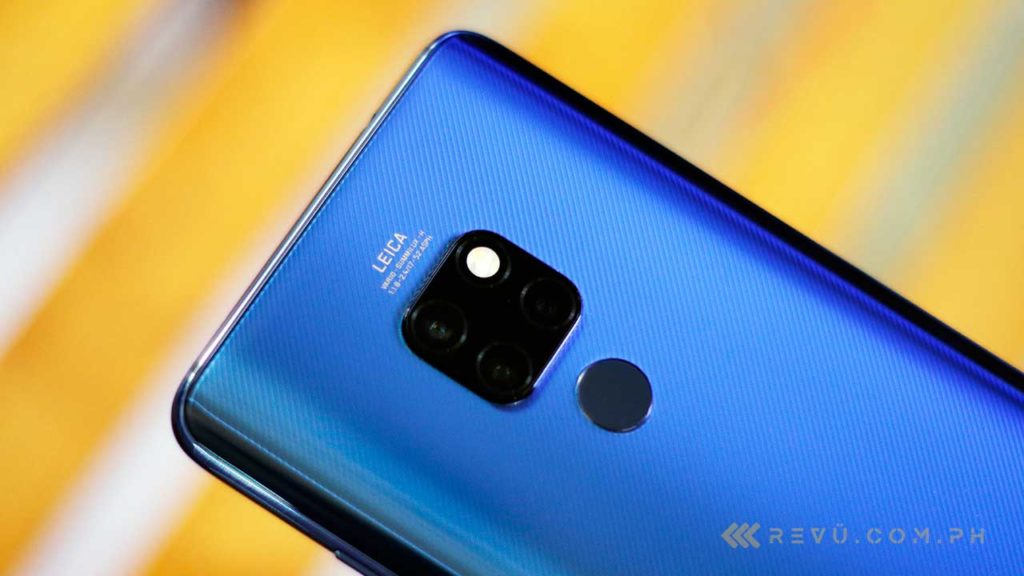 Huawei Mate 20 price and specs on Revu Philippines