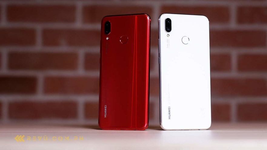 Huawei Nova 3 red and Huawei Nova 3i pearl white: An unboxing video on Revu Philippines