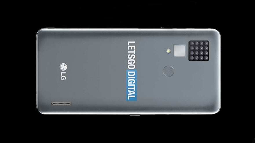 LG smartphone with 16 cameras on the back or rear on Revu Philippines