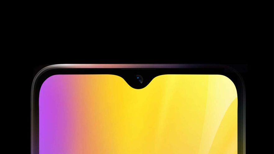 Realme U1 notched screen teaser on Revu Philippines