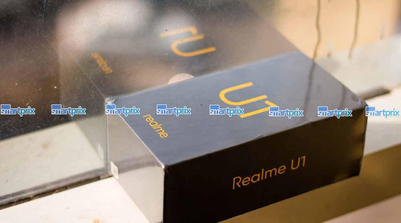 Realme U1 retail box leak on Revu Philippines