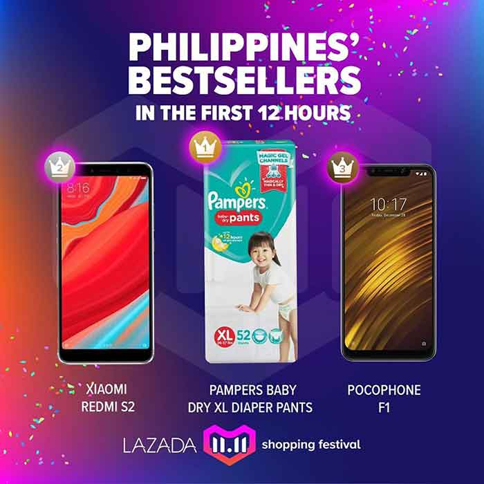 Xiaomi is bestselling phone brand at Lazada PH's 11.11