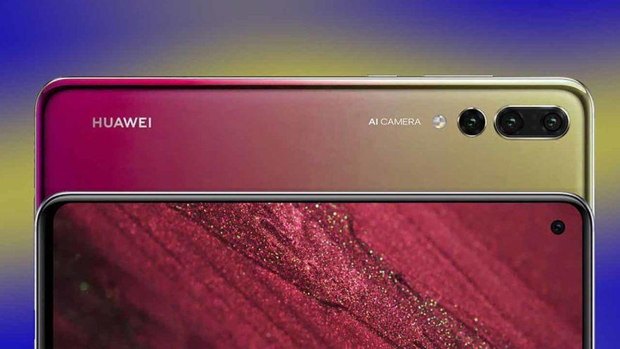 Huawei Nova 4 render on Revu Philippines