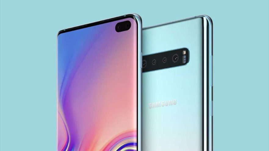 Samsung Galaxy S10 Plus image and video 360-degree render