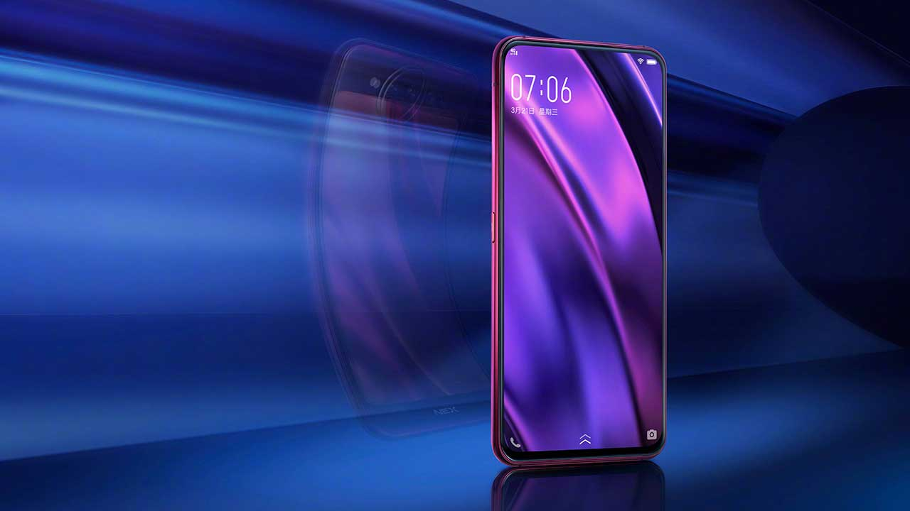 Vivo NEX 2 Dual Screen phone official image on Revu Philippines