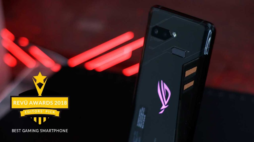 ASUS ROG Phone is best gaming smartphone of the year at Revü Awards 2018, Editors' Pick category