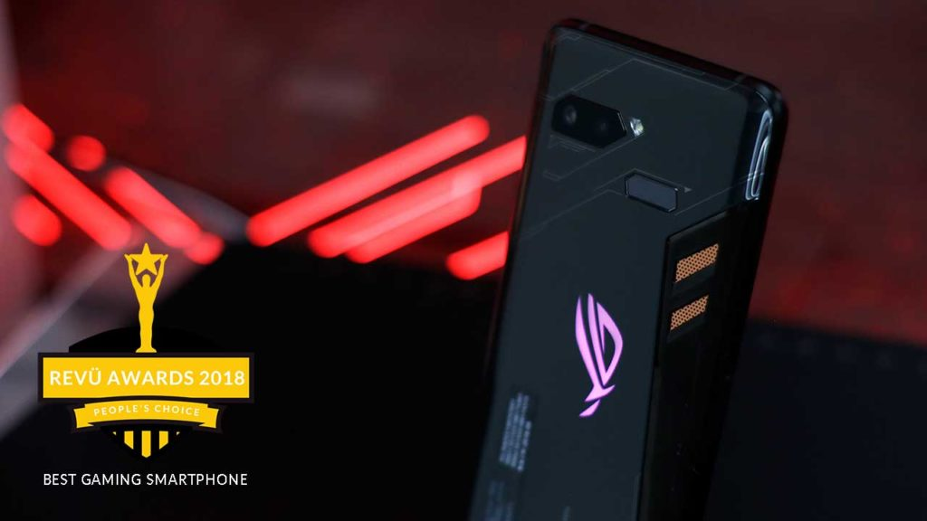 ASUS ROG Phone is best gaming smartphone of the year at Revü Awards 2018, People's Choice category