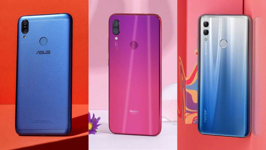 ASUS ZenFone Max M2 vs Redmi Note 7 vs Honor 10 Lite: A specs and price comparison by Revu Philippines