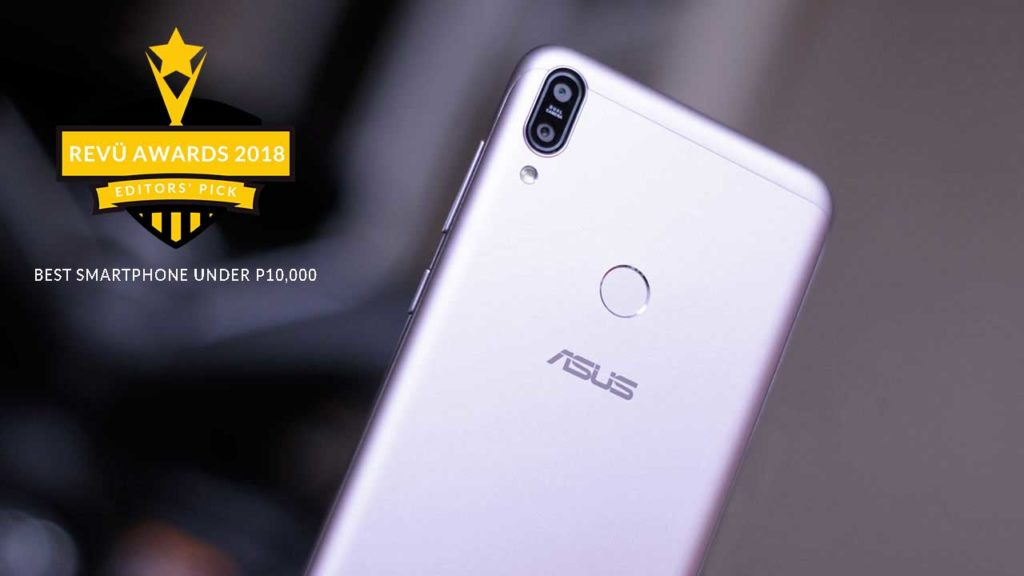 ASUS ZenFone Max Pro M1 is best phone under P10,000 at Revü Awards 2018, Editors' Pick category