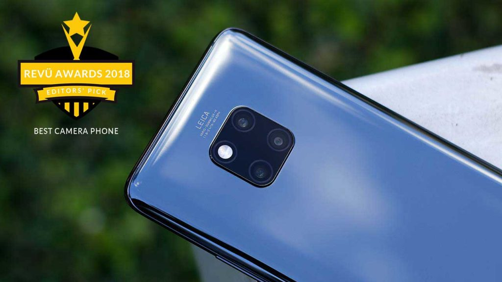 Huawei Mate 20 Pro is best camera phone of the year at Revü Awards 2018, Editors' Pick category