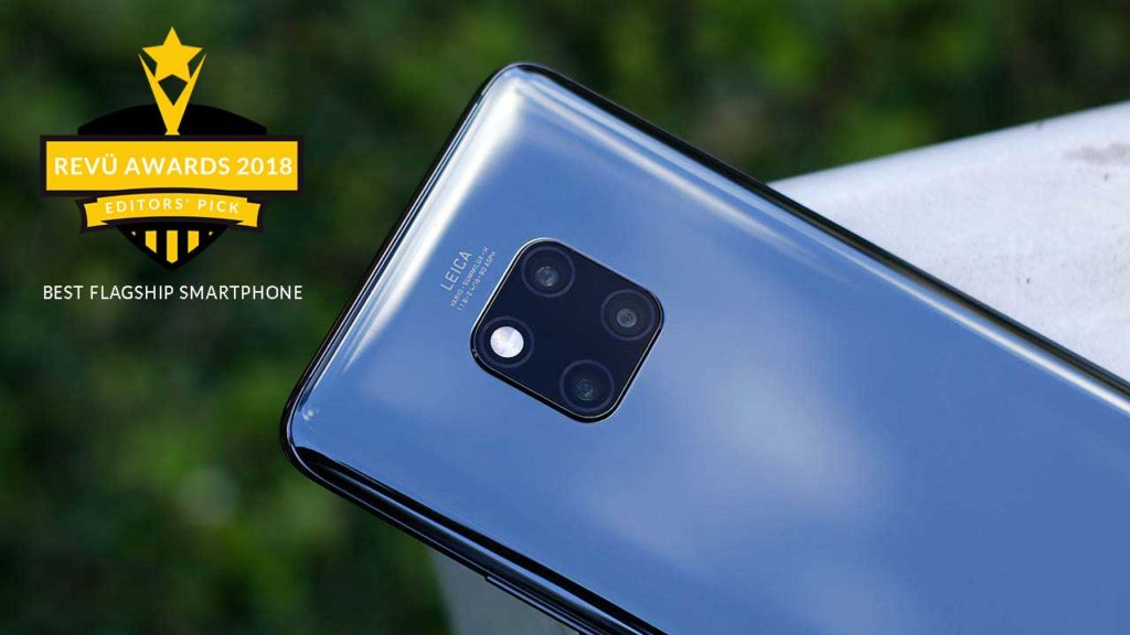Huawei Mate 20 Pro is best flagship smartphone of the year at Revü Awards 2018, Editors' Pick category