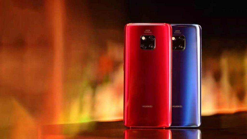 Huawei Mate 20 Pro new red and blue colors on Revu Philippines