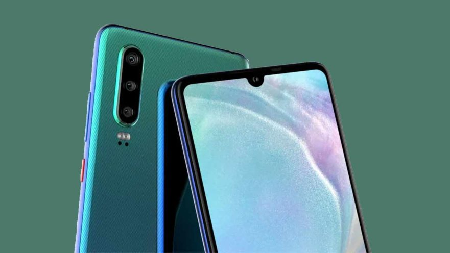 Huawei P30 design in image render and video leak on Revu Philippines