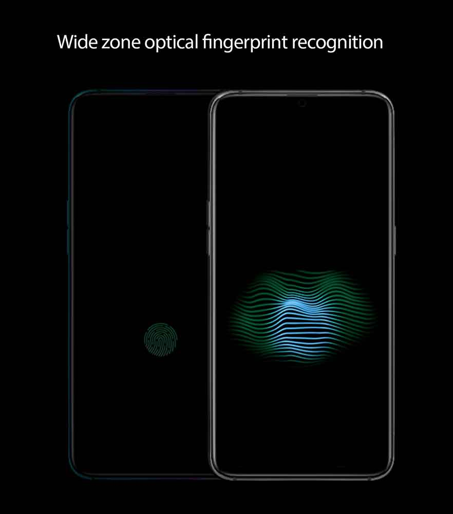OPPO wide zone optical fingerprint recognition on Revu Philippines