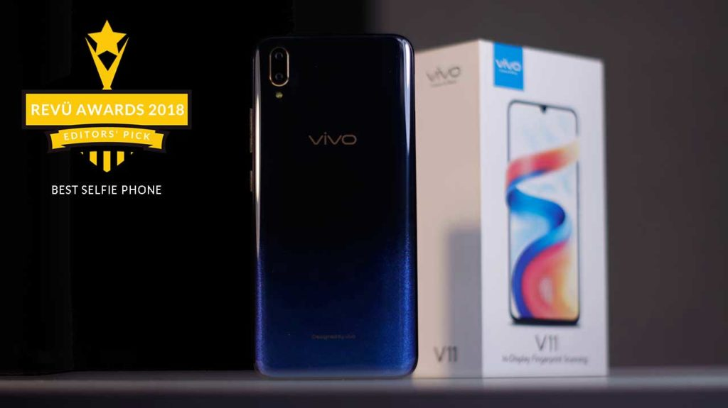 Vivo V11 is best selfie phone of the year at Revü Awards 2018, Editors' Pick category