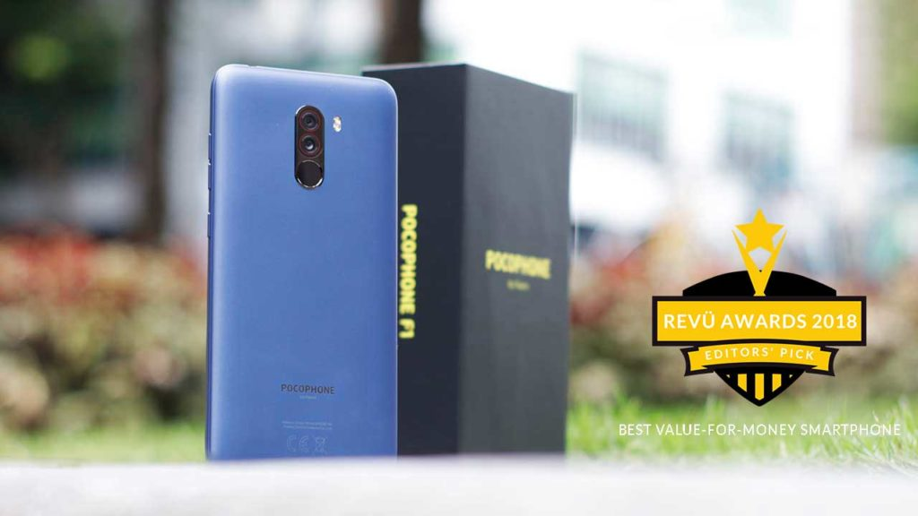 Xiaomi Pocophone F1 is best value-for-money phone of the year at Revü Awards 2018, Editors' Pick category