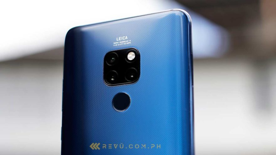 Huawei Mate 20 specs and sale price via Revu Philippines